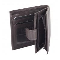 Goat Nappa RFID Proof Notecase with Back Zip Round Pocket