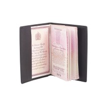 Goat Nappa Passport Case/Cover