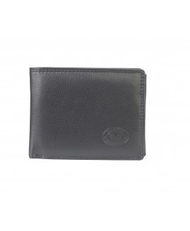London Leathergoods Soft Grain Cow Hide Nappa RFID Protected Notecase Wallet, with 9 Credit Card Slots.