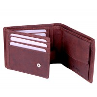 London Leathergoods Two Tone Cow Trumpler Notecase with Coin Pocket- Special Offer