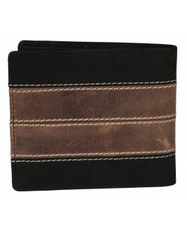 "Matt ""Hunter"" Leather Twin Section Notecase with Credit Card Slots. Non-RFID - 30% Discount!!"