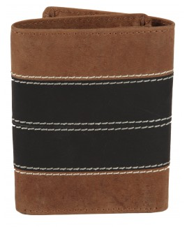 "Matt ""Hunter"" Leather Trifold Notecase with Credit Card Slots"