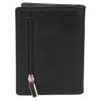 Cow Nappa Credit Card Case with Back Zip Pocket - COMING SOON!