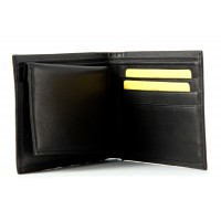 London Leathergoods Korean Nappa Notecase with Removable ID Flap  - 20% Off!
