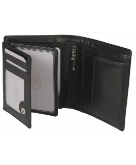 London Leathergoods Cow Nappa RFID Proof Portrait Notecase - PRICE DROP  !
