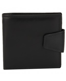 London Leathergoods Cow Nappa RFID Proof Notecase with Thick Security Tab- New Low Price !