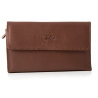 London Leathergoods Korean Nappa Flapover Purse - 20% Off!