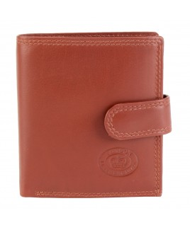 London Leathergoods Cow Nappa RFID Proof Notecase with Security Tab & Swing Section- Price Reduction!