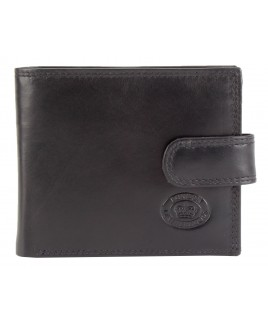 London Leathergoods Cow Nappa RFID Proof Notecase with Security Tab & Credit Card Swing Section- Price Drop !
