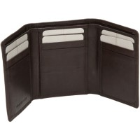 London Leathergoods Cow Nappa Trifold Shirt Wallet. Non-RFID - 30% Discount!!