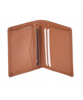 London Leathergoods Cow Nappa RFID Proof Bifold Shirt Wallet- Price Drop