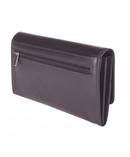 London Leathergoods Cow Nappa Long Envelope Purse