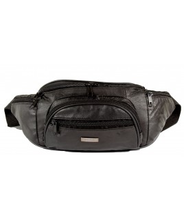 Lorenz Sheep Nappa Bumbag with Zip Round Pocket