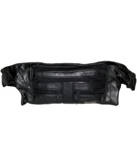 Lorenz Sheep Nappa 4 Zip Slim Money Belt