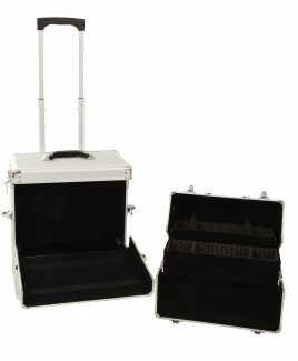 dcd38c5c9d1e Aluminium Double Tiered Beauty Trolley- FURTHER REDUCTIONS !