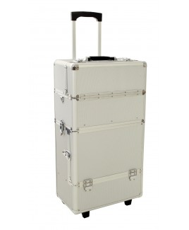 Aluminium Double Tiered  Beauty Trolley- FURTHER REDUCTIONS !!!!