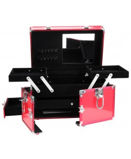 Multi Draw Aluminium Vanity Case