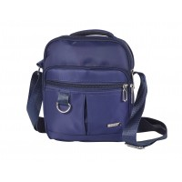 Lorenz Twin Top Zip Cross-Body Bag with Two front Zipped Compartments
