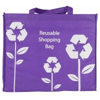Soft & Strong Reusable Shopping Bag with Grab & Shoulder Handles