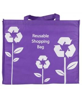 Soft & Strong Reusable Shopping Bag with Grab & Shoulder Handles