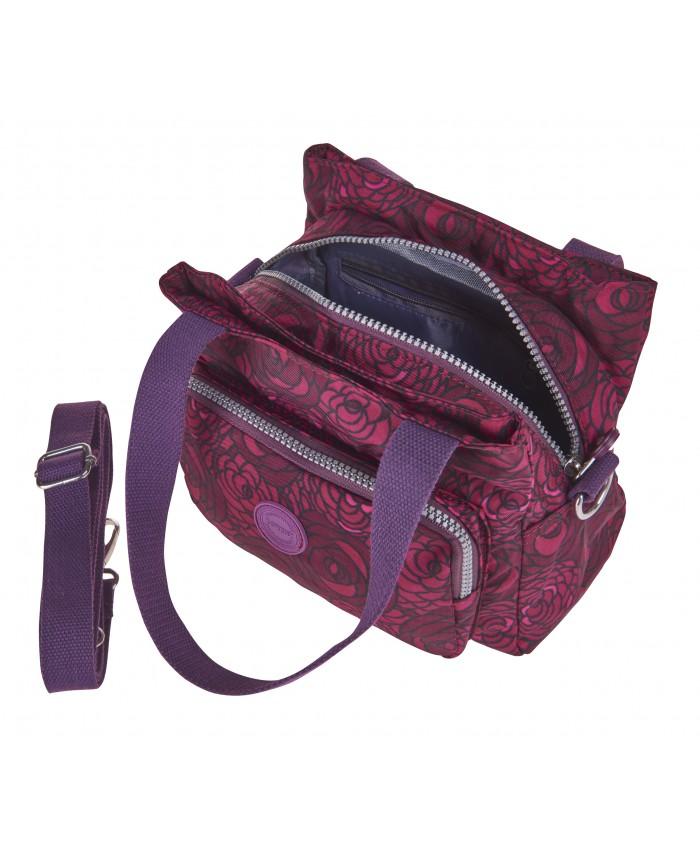 Lorenz Crinkled Nylon Handbag  7d19ec9d9e9c2