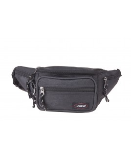 Lorenz Two Tone Polyester Bumbag with Side Pockets