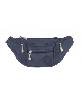 Lorenz Nylon Bumbag with 4 Zip Pockets