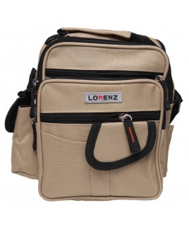 Lorenz  Polyester Unisex Bag with 6 Zips & 4 Pockets
