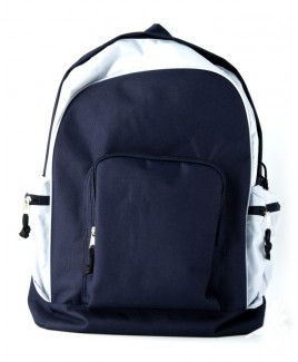 Large Backpack with Top, Front & Side Zips