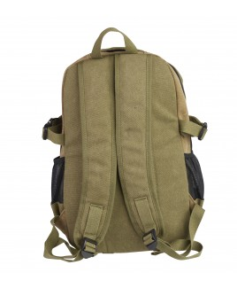 Lorenz Canvas Backpack with 4 Zips & 2 Side Pockets -PRICE DROP !