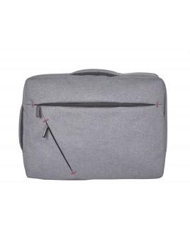 Modernist Combi Bag- Backpack- Handheld Laptop/Business Bag with 2 Front Zip Pockets
