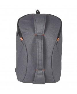 Modernist Top Zip Round Backpack with Front Zip Round Pocket & 3 Grab Handles