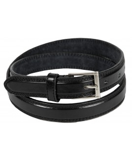 "1"" Milano Belt with Double Stitching -PRICE DROP !"
