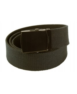 Milano 1.5 inch Unisex Canvas Belt with Same Colour Buckle - 15% Off!!!