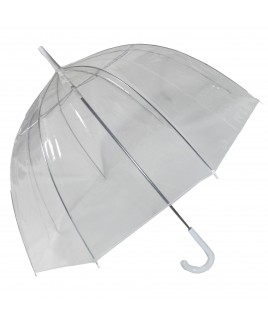Clear PVC Dome Shape Umbrella