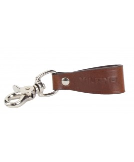 Milano Full Leather Medium Sized Belt Loop for Keys