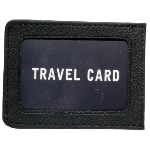 Cow Hide Single Side Travel Card Holder