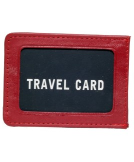 061718cc4360 Cow Hide Single Side Travel Card Holder ...