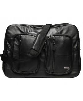 Lorenz Cow Hide Multi-Wat Twin Top Zip Laptop Bag/Backpack- SPECIAL PRICE!