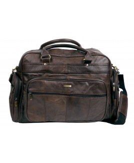 Lorenz Cow Hide Large Holdall/Travel Bag