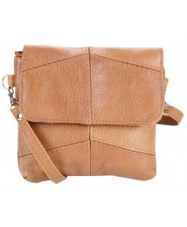 Small Cowhide Flapover Bag