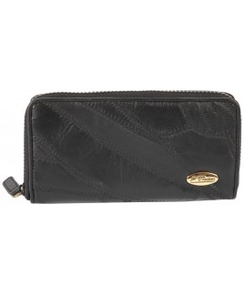Je T'adore Patchwork Long Zip Round Purse Inner Zip & Credit Card Slots-SPECIAL OFFER !!