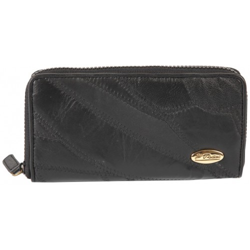 Je T'adore Patchwork Long Zip Round Purse Inner Zip & Credit Card Slots-FURTHER REDUCTIONS !!