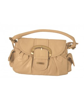 Lorenz Small PVC Handbag with Large Gold Buckle - - EVEN FURTHER REDUCTIONS!!