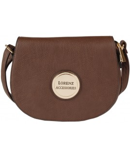 Lorenz Accessories Faux Leather Flapover X-Body Bag-NEW LOWER PRICE !