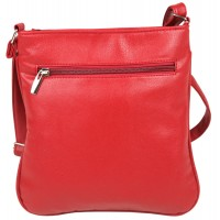 Lorenz Leather Grained PU Top Zip Cross-Body Bag