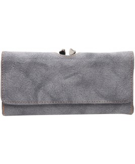 Lorenz Two Tone PU 19cm Flapover Purse- PRICE DROPPED!!