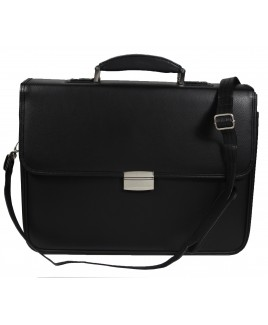 Large Leather Grain PVC Laptop/Work Bag with Adjustable Strap and Handle-MASSIVE PRICE DROP!!