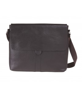 Lorenz Professional Large Cross-Body Flapover/Messenger Bag