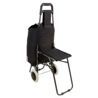 Economy Shopping Trolley with Seat
